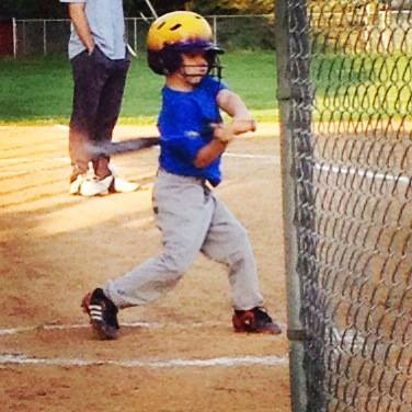 Taking time for tee-ball